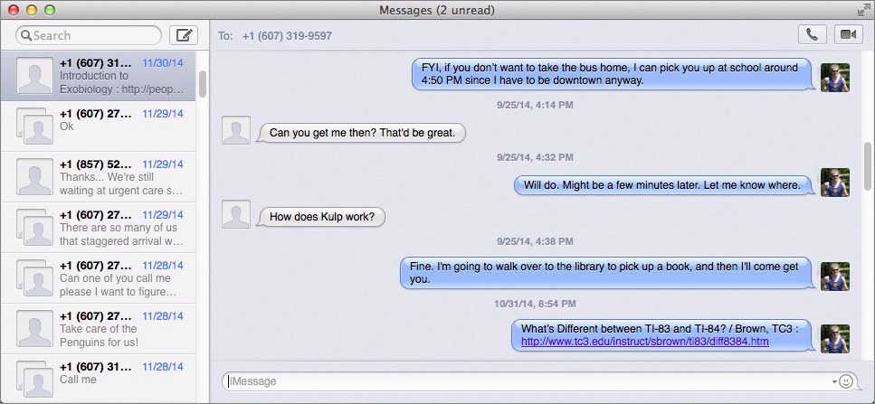 How to Change the Font in Messages in Yosemite - TidBITS