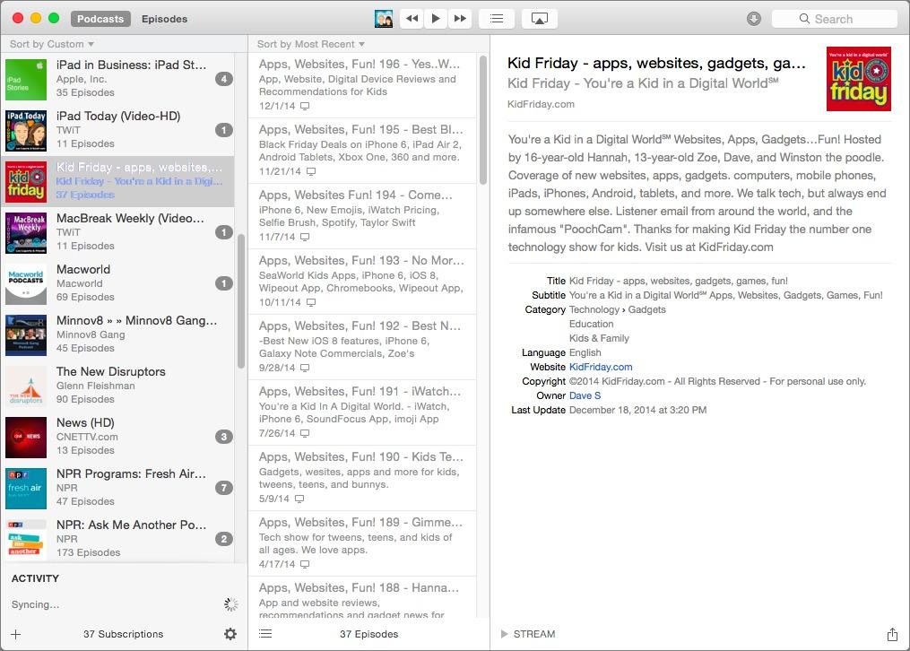 Mac Podcast Client Showdown: Native Clients vs  Web Apps