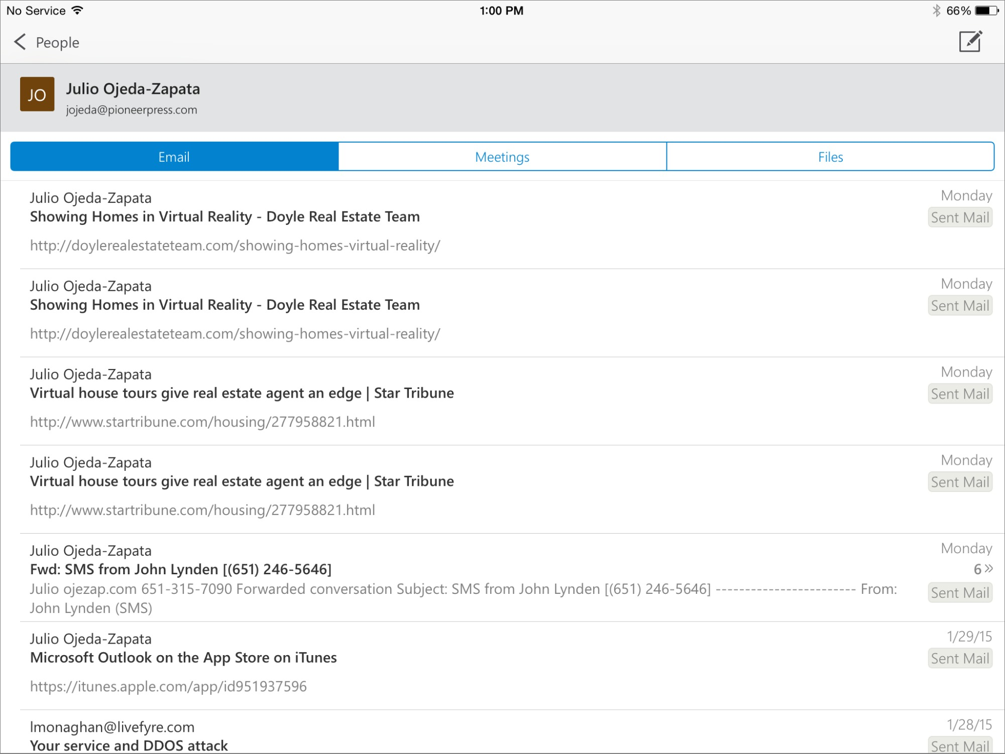 Microsoft Outlook Arrives for iOS - TidBITS