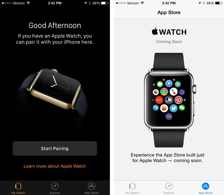 Apple Releases iOS 8 2 with Apple Watch Support - TidBITS
