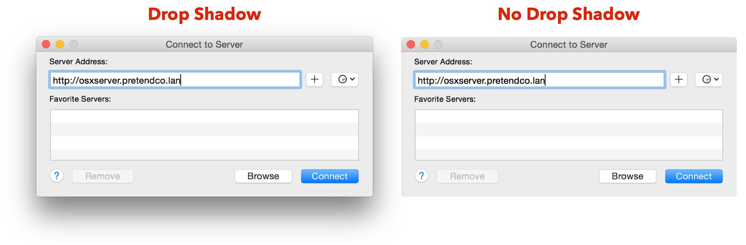 How to Eliminate Drop Shadows in OS X Screenshots - TidBITS