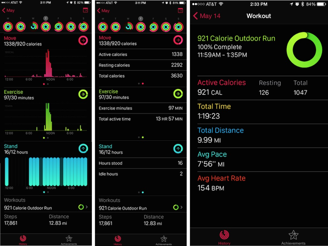 Exercising with the Apple Watch: The Software - TidBITS
