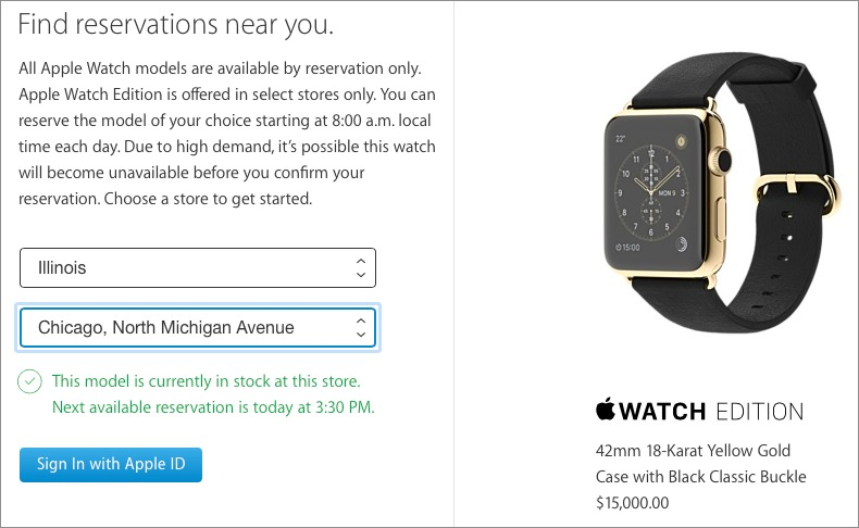 Apple Watch Models Now In Stock at Some Retail Stores - TidBITS