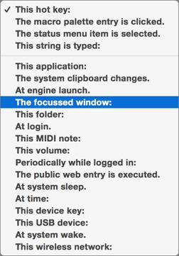 Keyboard Maestro 7 Features Enhancements Throughout - TidBITS