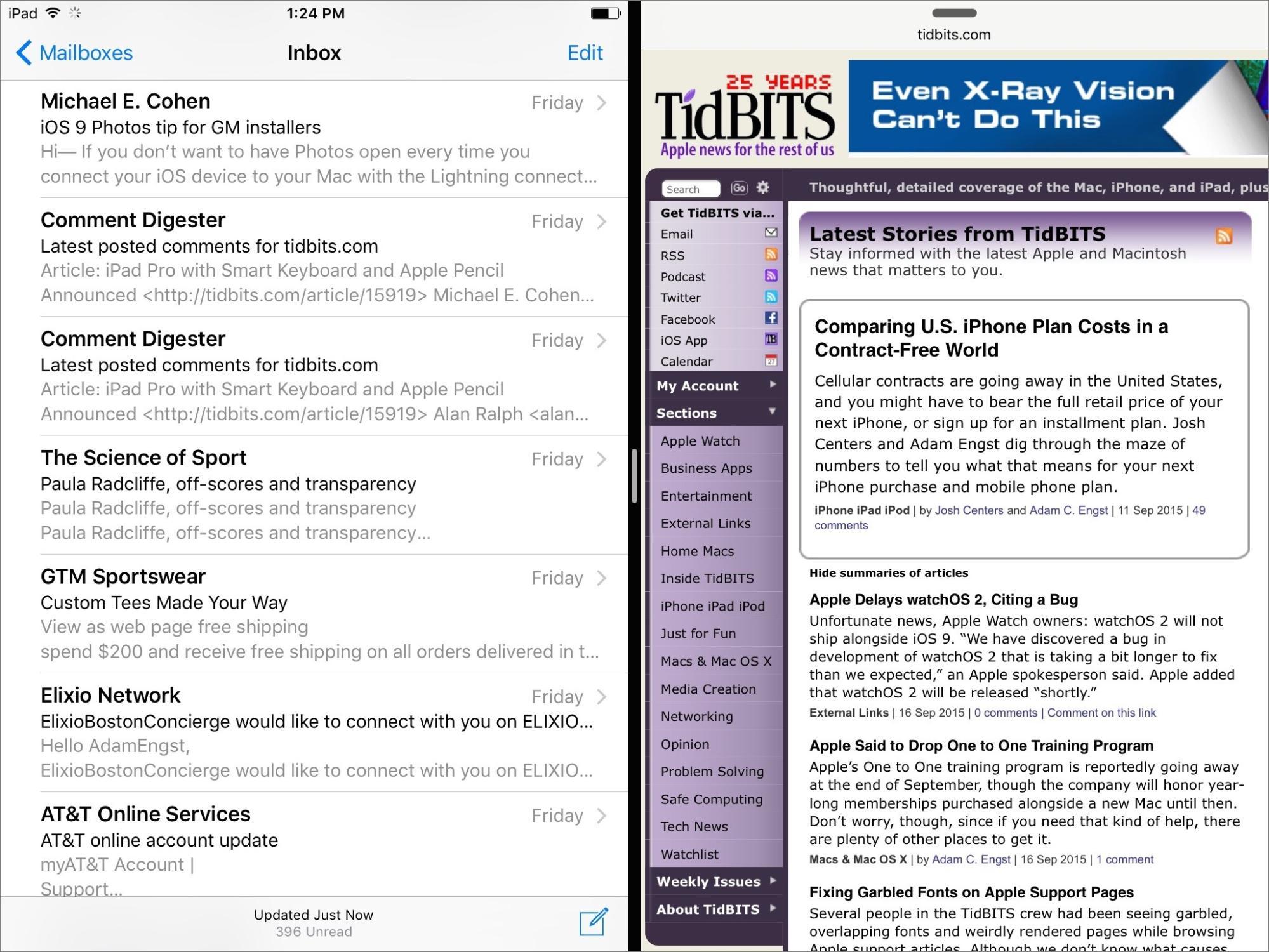 iOS 9: TidBITS Answers Your Questions - TidBITS
