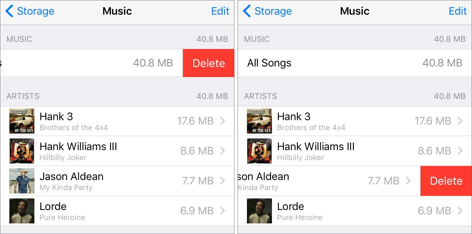 Beware Nasty Auto-Download Music Bug in iOS 9 - TidBITS