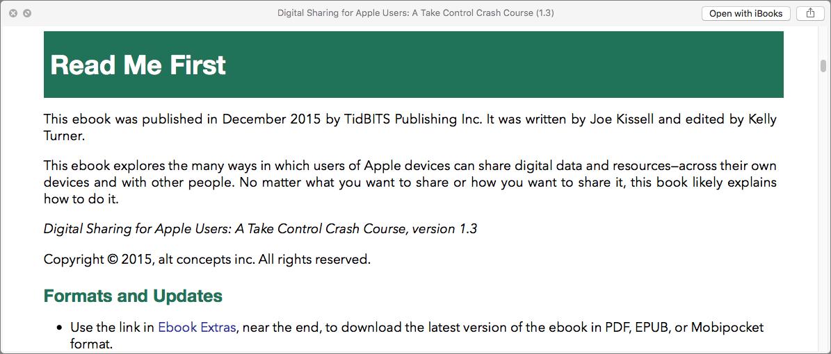 OS X Hidden Treasures: Quick Look - TidBITS