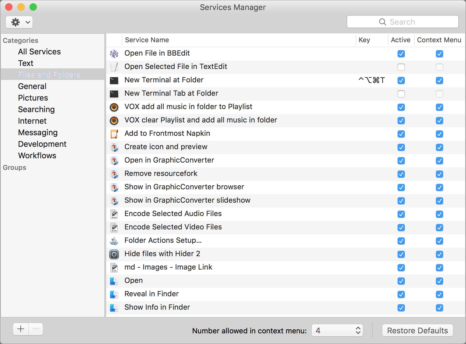 OS X Hidden Treasures: Services - TidBITS