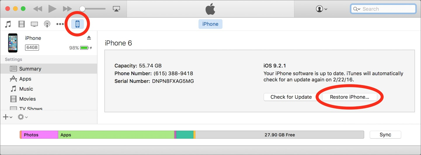 Apple Issues New iOS 9 2 1 to Fix Error 53 - TidBITS