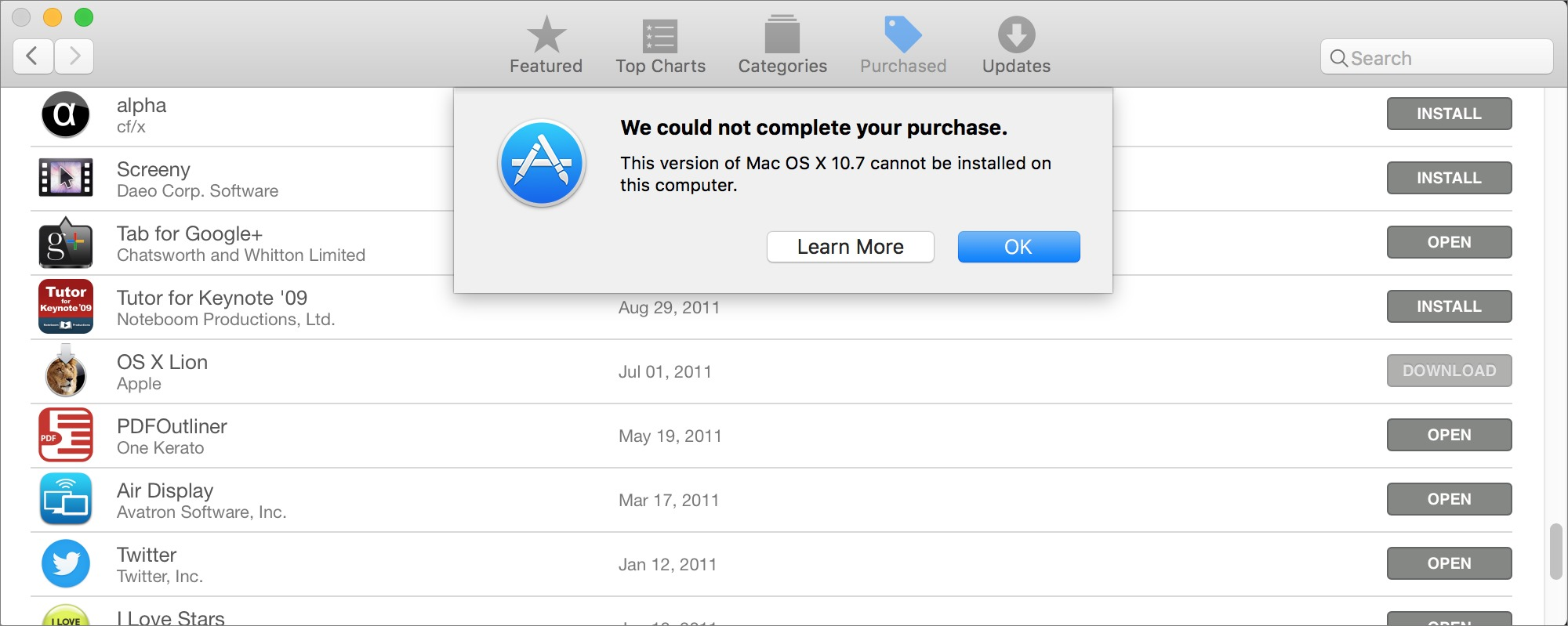 Previously Downloaded OS X Installers No Longer Work - TidBITS