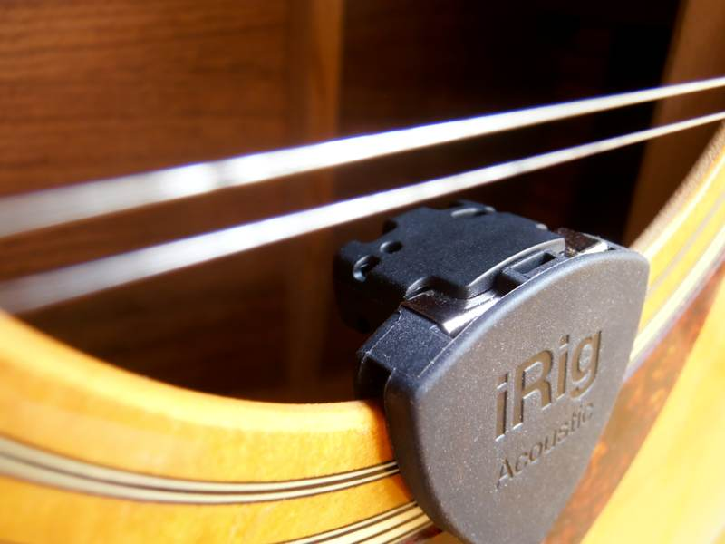IK Multimedia iRig Acoustic: More Twang for the Buck - TidBITS