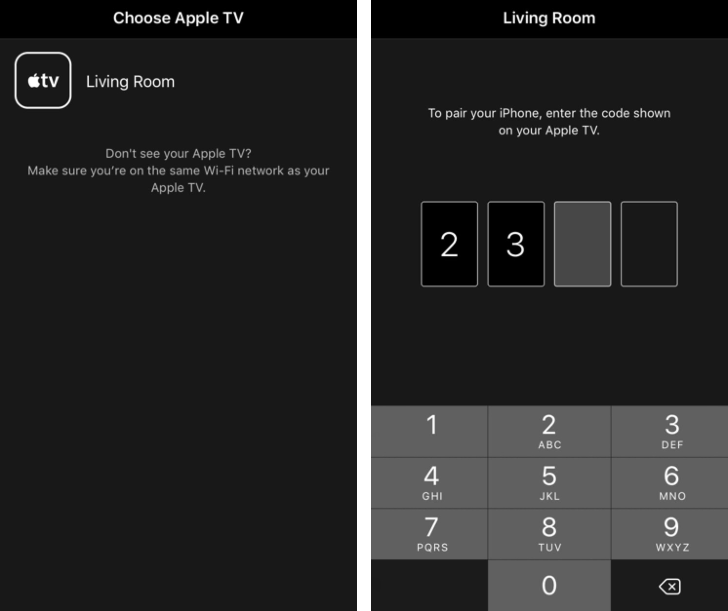 Pair siri remote with old apple tv