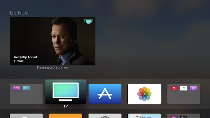 "tvOS 10 1 Unifies the Apple TV Experience with ""TV"" App"