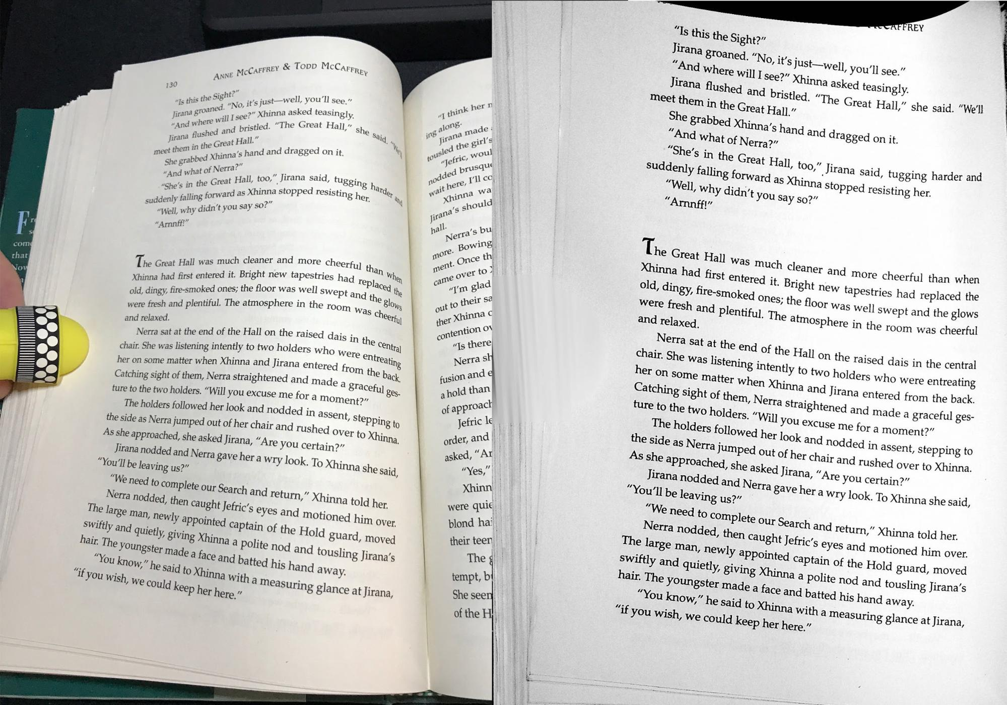 it book pages