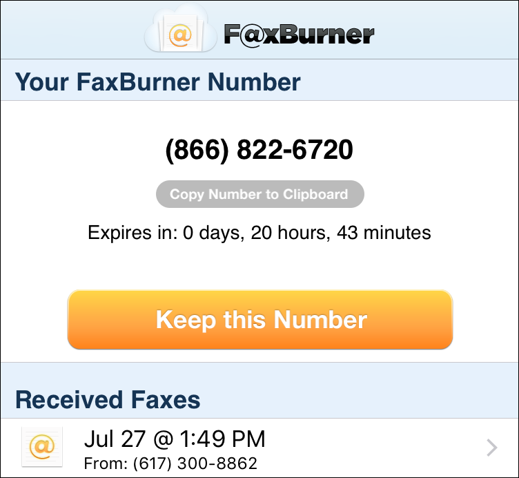 how to send a fax to a toll free number