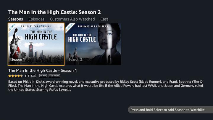 Amazon Prime Video Comes to Apple TV - TidBITS
