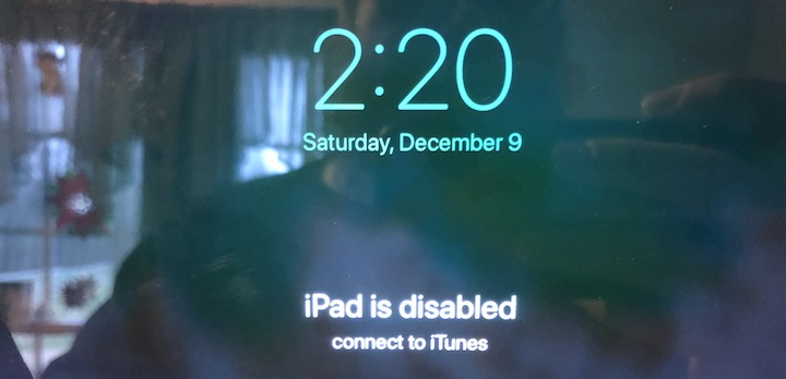 What to Do If Your iPad Gets Disabled By Too Many Passcode