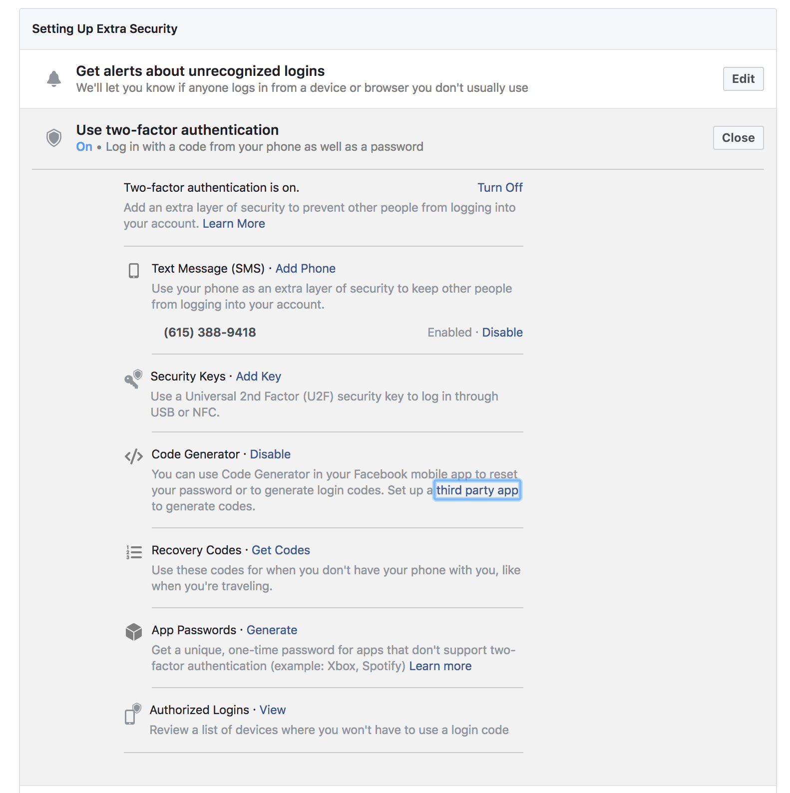 Facebook Shows Why SMS Isn't Ideal for Two-Factor Authentication