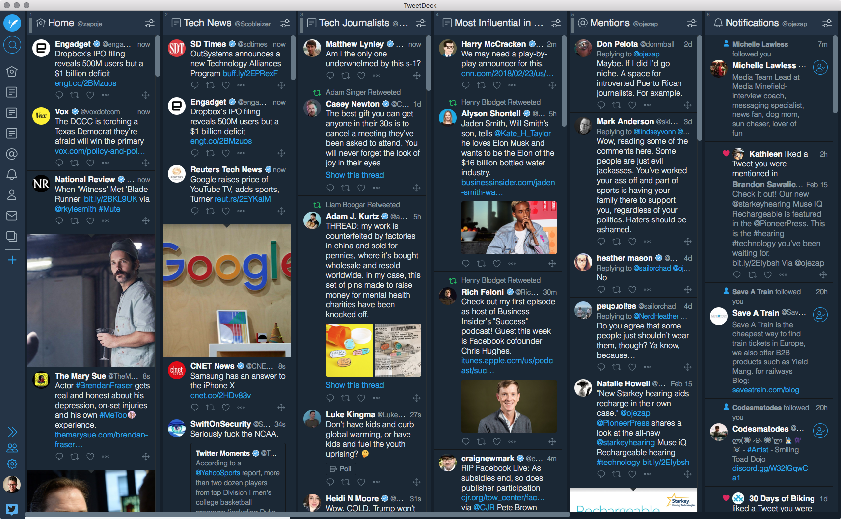 It's TweetDeck, but with all the important features