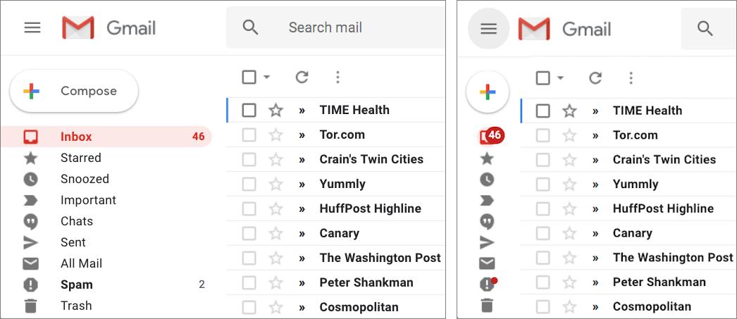 Google Revamps Gmail's Web Interface - TidBITS