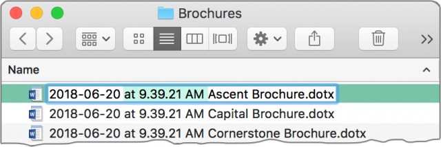 Copying the timestamp portion of a filename.
