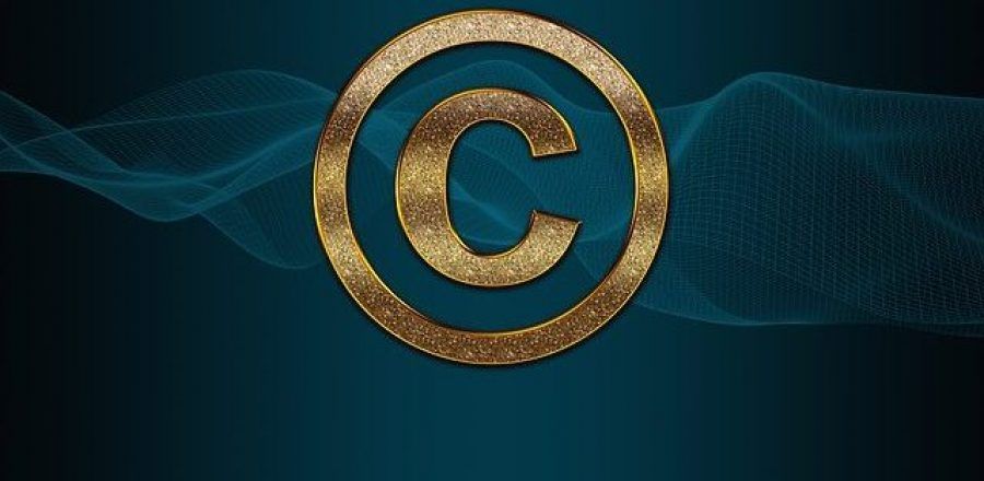 The copyright symbol.