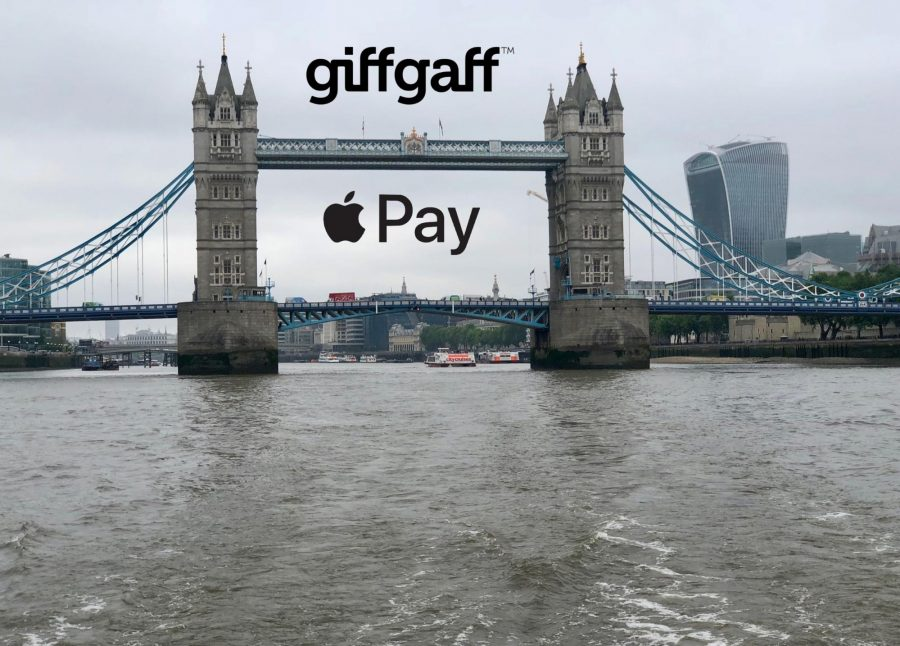Giffgaff and Apple Pay in London