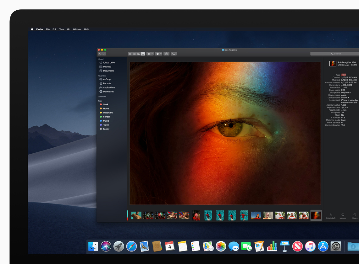 The Big News about macOS 10 14 Mojave Is Dark - TidBITS