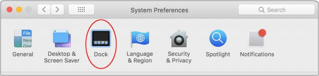 Navigating System Preferences with the keyboard.