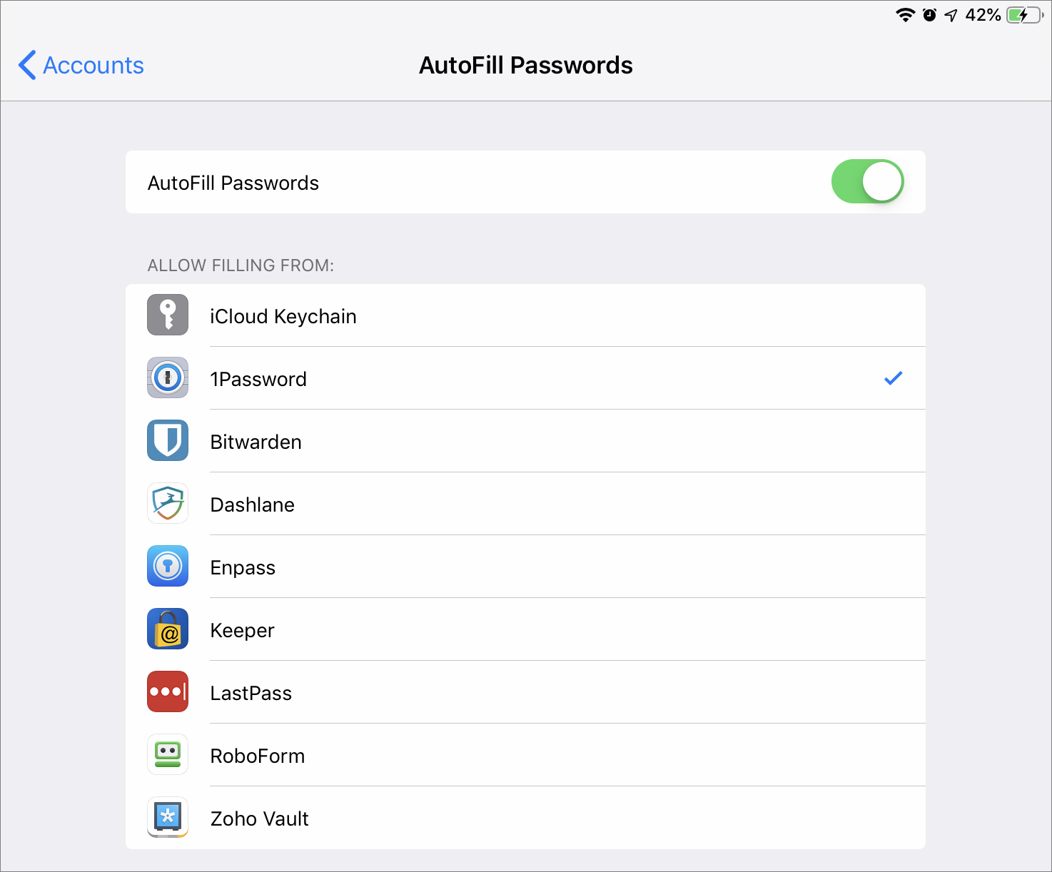 Inside iOS 12: Use Third-Party Password Managers to Simplify