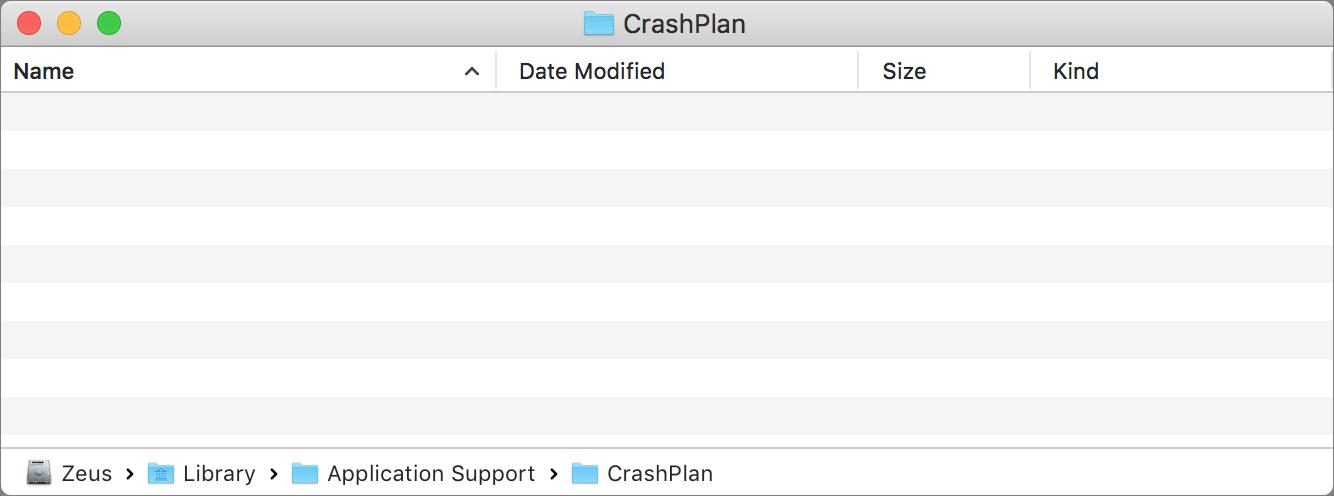 Uninstalling CrashPlan PROe – Macintosh | University IT ...