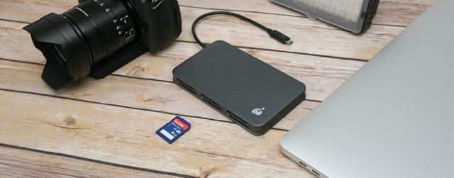 IOGEAR Thunderbolt 6-Slot SD Reader