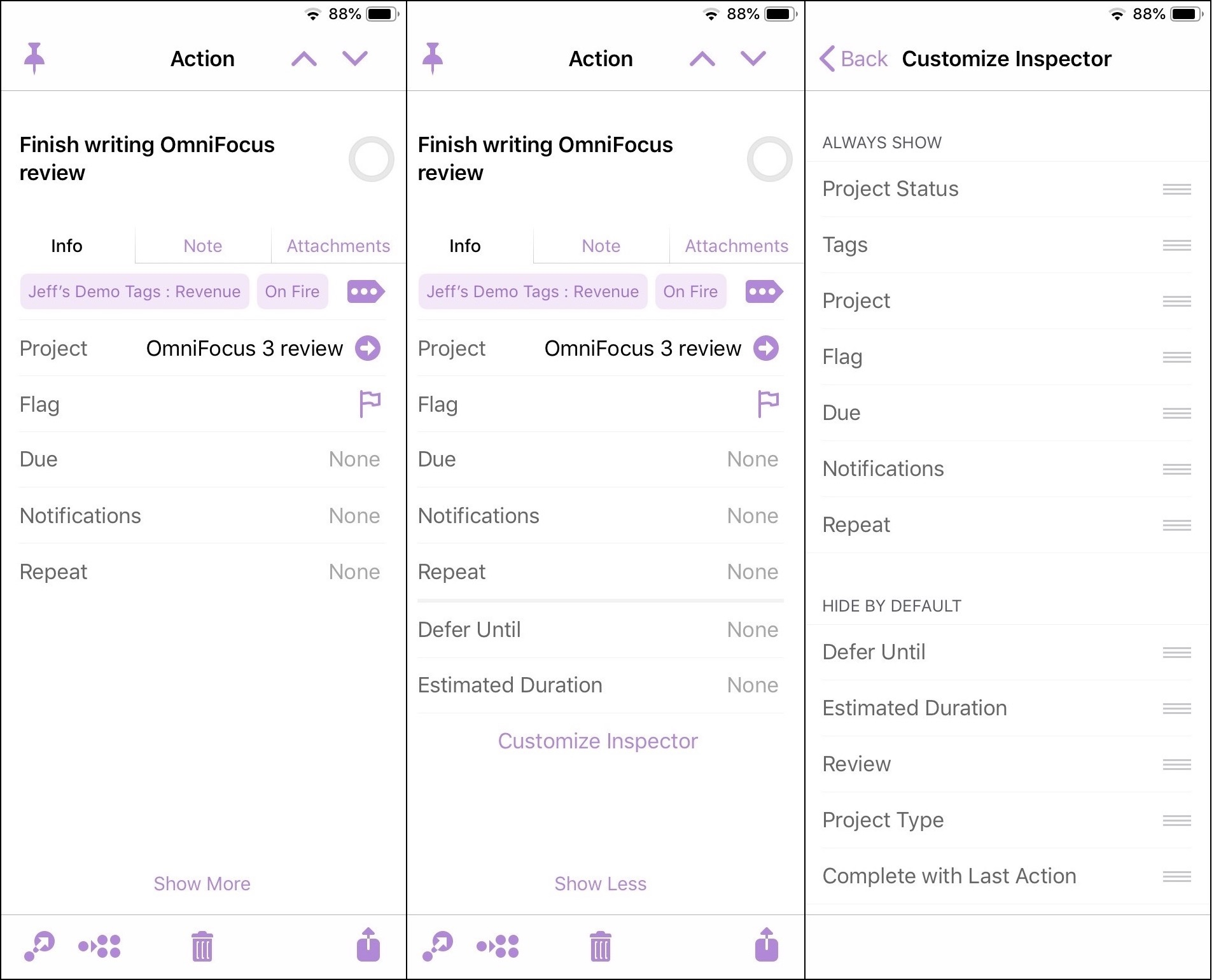 OmniFocus 3: What's New and What's Blue in Task Management