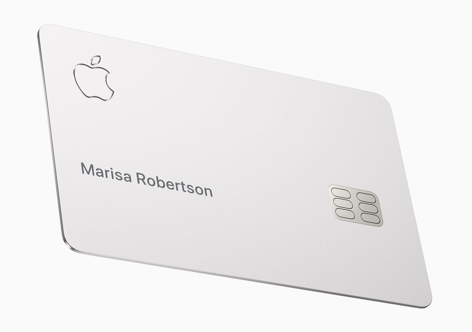 A Close Look at the Titanium Apple Card's Design