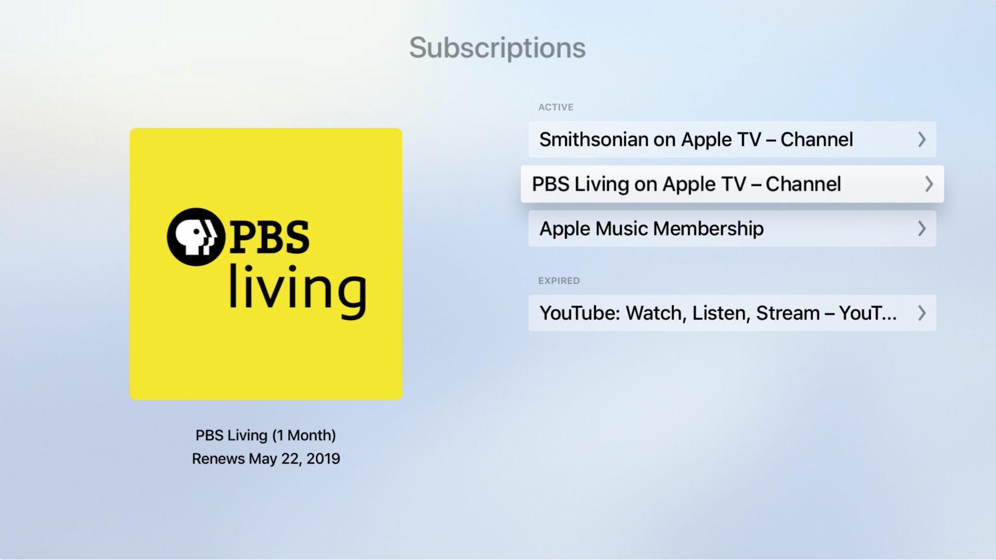 Discovering Apple TV Channels - TidBITS