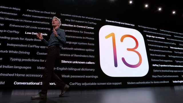 Miscellaneous iOS 13 features