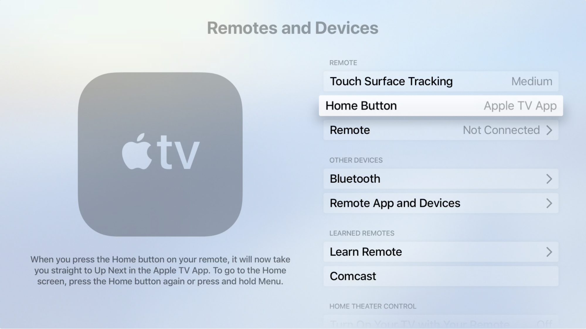 TipBITS: Make the Apple TV's Home Button Go Home - TidBITS