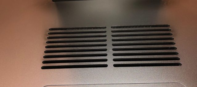 iMac rear vents