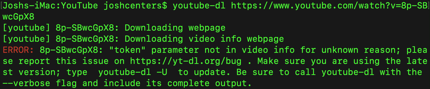 Downloading YouTube Videos in macOS - TidBITS