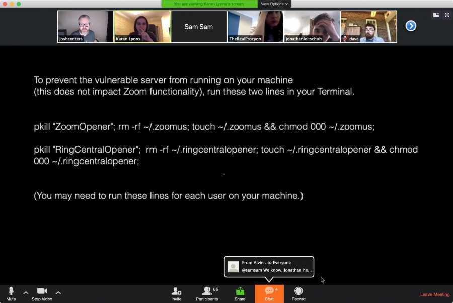 Zoom and RingCentral Exploits Allow Remote Webcam Access