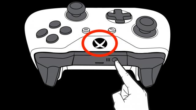 Pairing an Xbox controller