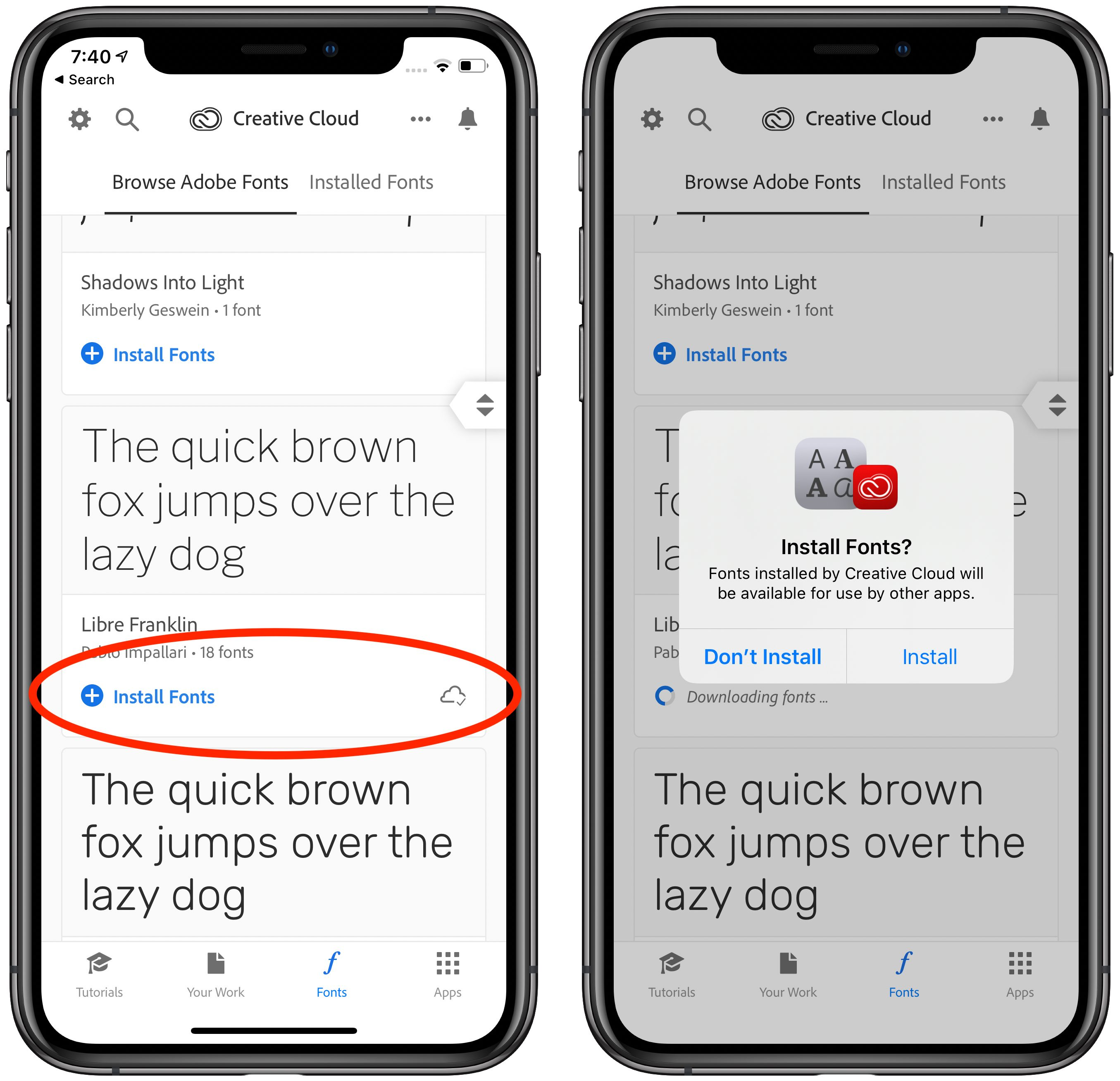 Adobe Releases Free Fonts for iOS - TidBITS