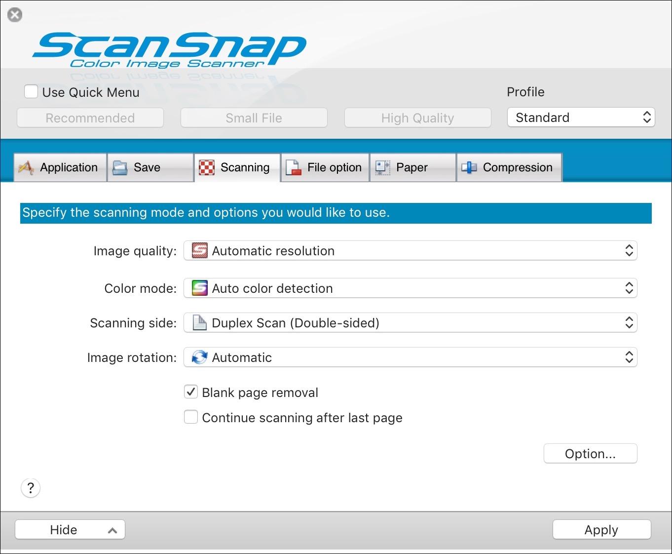 Scansnap s1300 windows 10 download