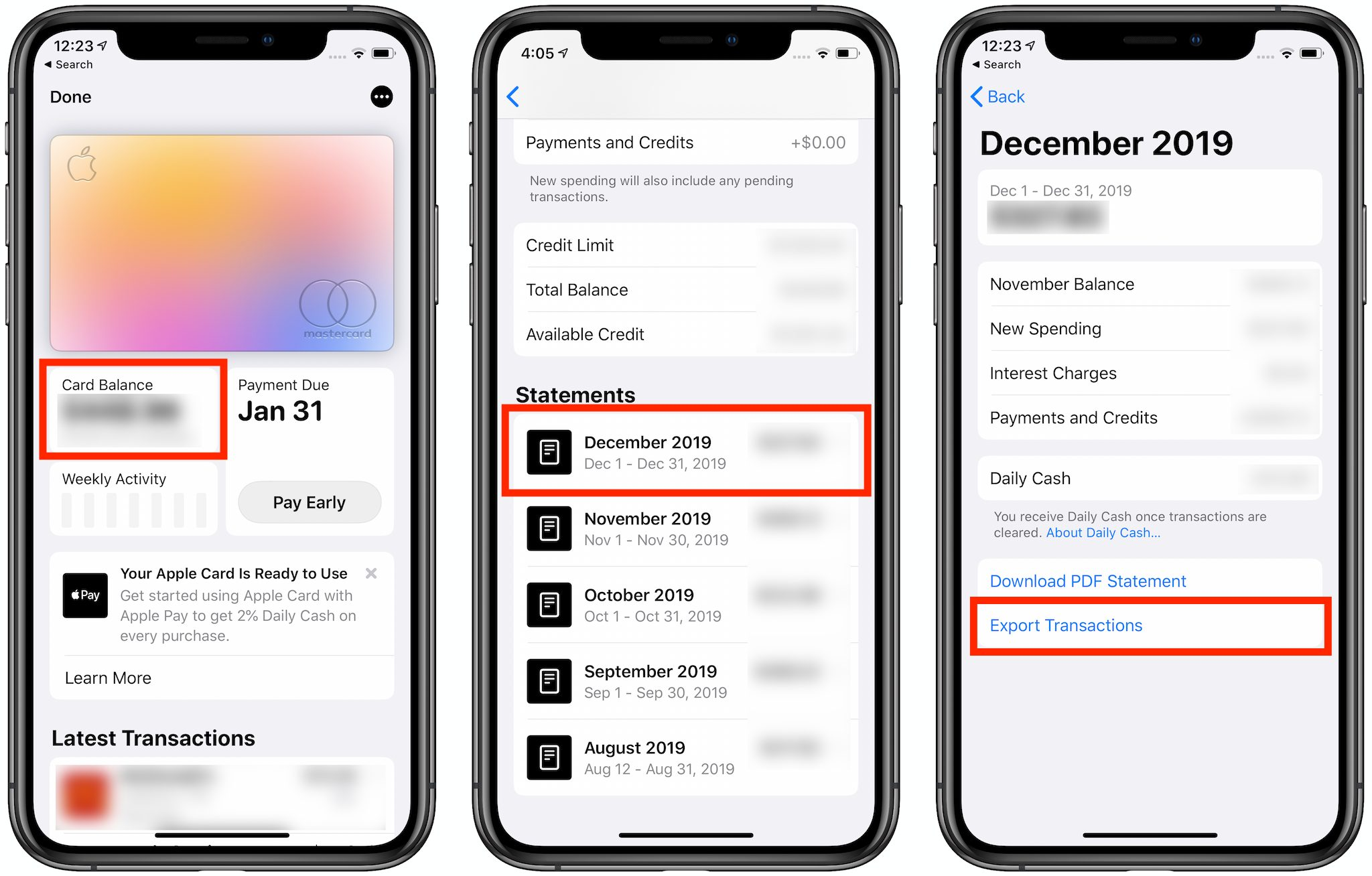 Apple Card (Finally) Gains CSV Statement Export - TidBITS