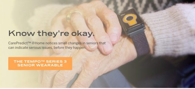 CarePredict Tempo Series Senior Monitor