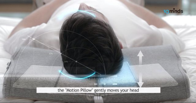 Motion Pillow Snoring Aid