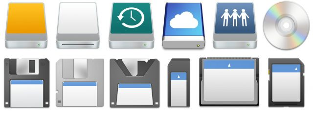 Custom drive icons in macOS