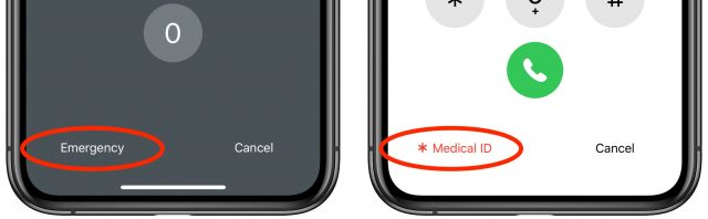 How to access Medical ID on a locked iPhone