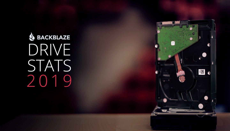 Backblaze's 2019 Hard Drive Reliability Statistics - TidBITS