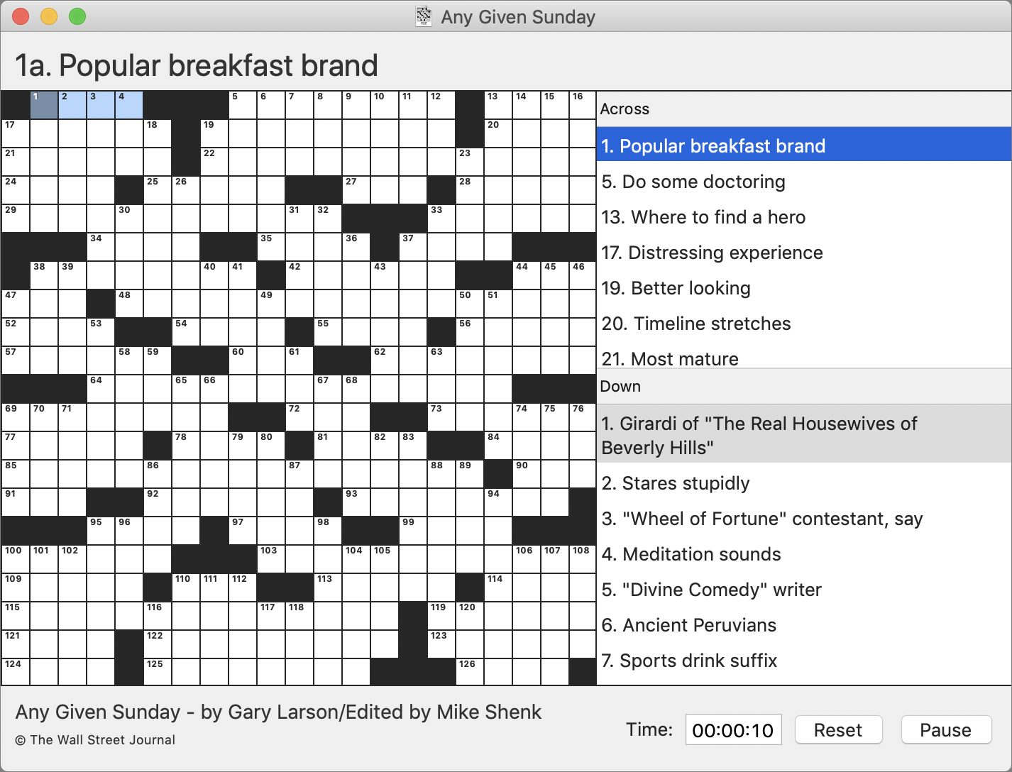 Black Ink Lets You Do Crossword Puzzles On Your Mac Tidbits